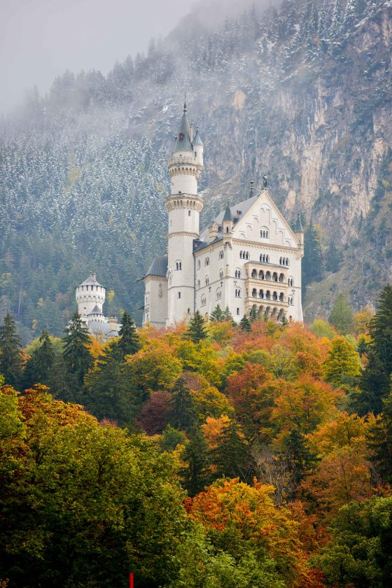 About 80 Klicks from Innsbruck is the famous Neuschwanstein Castle who some say inspired Walt Disney.