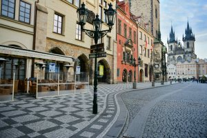 Prague Market Place 1
